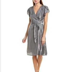 NWT Velvet by Graham and Spencer Metallic Dress